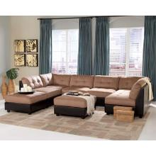 Claude 7PC Sectional - Light Brown