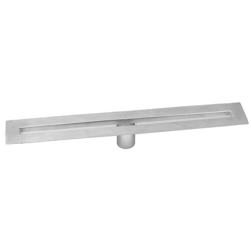 "Brushed Stainless - 32"" zeroEDGE Slim Channel Drain Body"