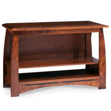 """See Details - Aspen Open TV Stand with Inlay, 48"""""""