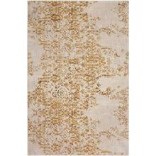 "Cosmopolitan Nirvana Brushed Gold 5' 3""x7' 10"""