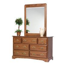"Sierra Classic 56"" Dresser- Mirror"