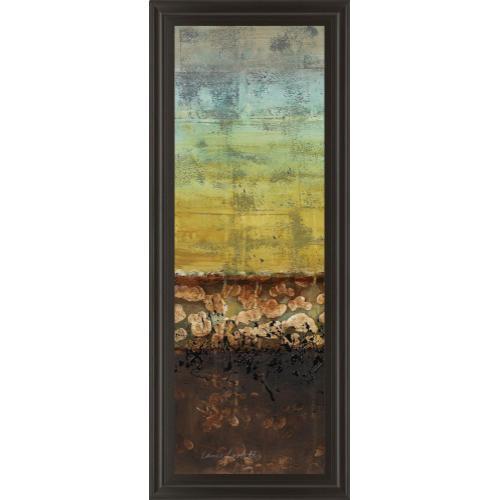 """Classy Art - """"Subterranean I"""" By Lanie Loreth Framed Print Wall Art"""