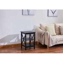 6604 X-Side Panel End Table