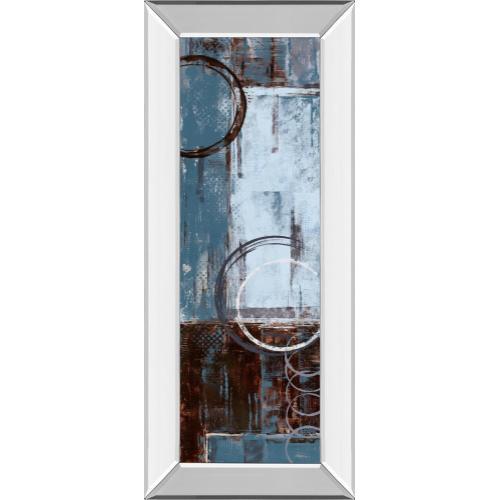 "Classy Art - ""Cool Dance Il"" By Maria Donovan Mirror Framed Print Wall Art"