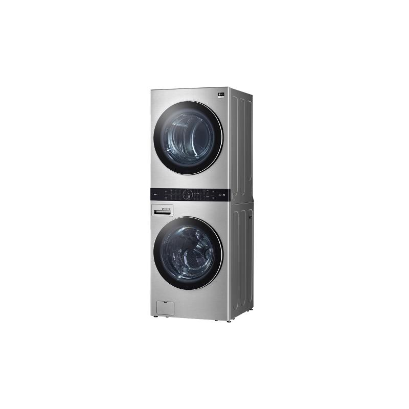 LG STUDIO Single Unit Front Load WashTower™ with Center Control™ 5.0 cu. ft. Washer and 7.4 cu. ft. Electric Dryer