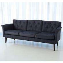 Emerywood Sofa-D'oro Suede-Ink