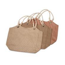 BTQ Ellenton Jute Bag - Ast 3