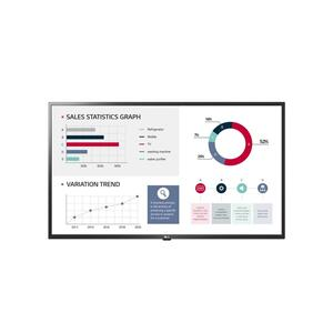 "Lg43"" UL3G-B Series IPS UHD Commercial Display Monitor with Built-in Quad Core SoC, webOS 4.0 Smart Signage Platform, Crestron & Cisco compatible & built-in speaker"