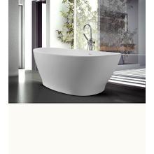 Elise  73-in Organic Large Bathtub