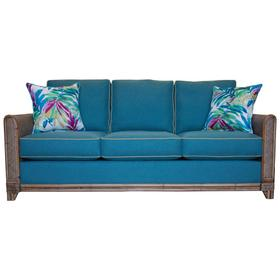 3 over 3 Convo-Lux seat cushions. Sofa arms available in Classic Natural finish only.