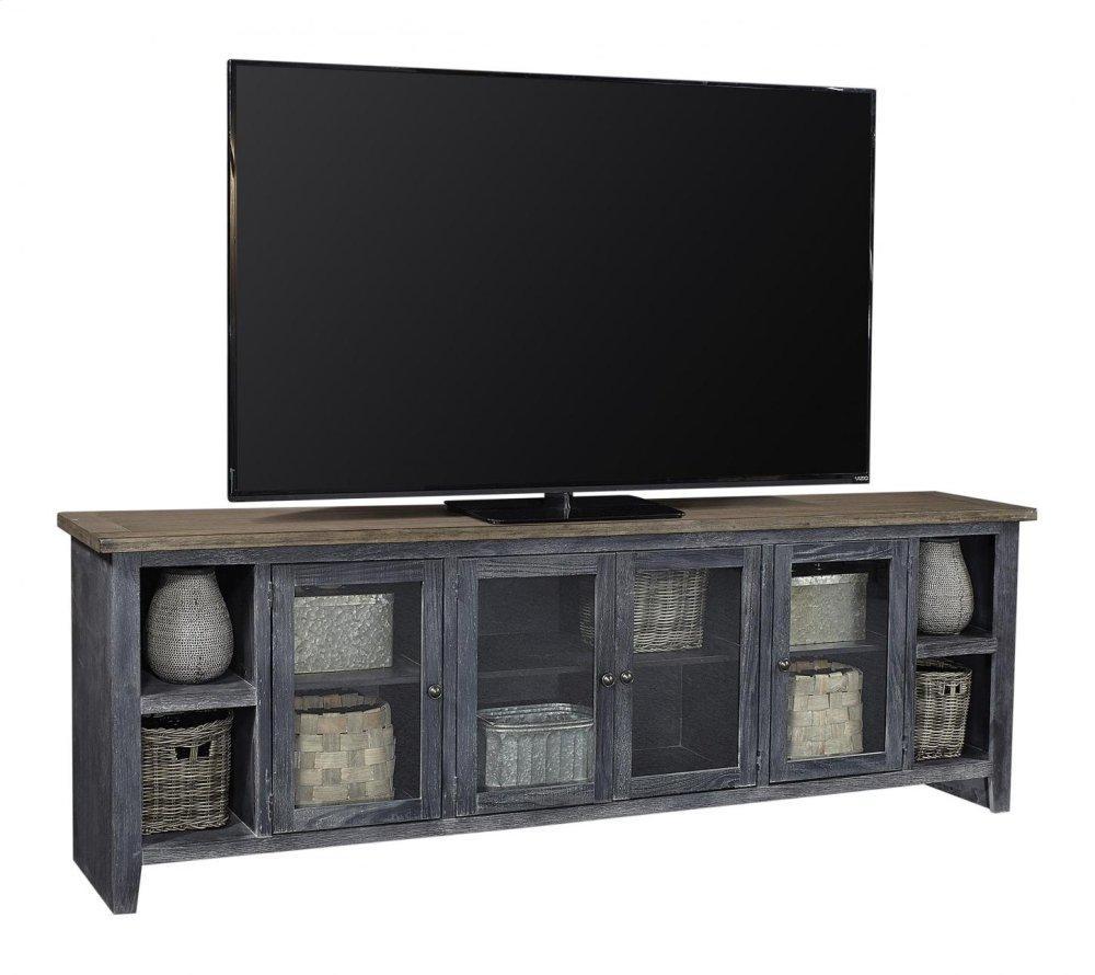 "Aspen FurnitureEastport 97"" Console W/ 4 Doors"