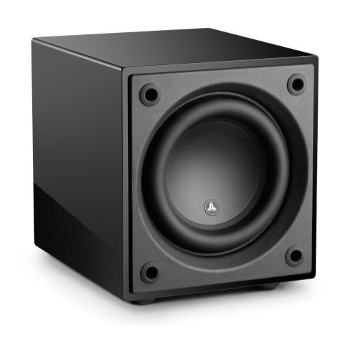 JL Audio - 8-inch (200 mm) Powered Subwoofer, Black Gloss Finish