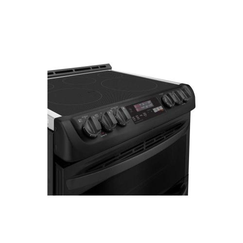 OPEN BOX 7.3 cu. ft. Smart wi-fi Enabled Electric Double Oven Slide-In Range with ProBake Convection® and EasyClean®