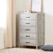 5-Drawer Chest Dresser - Seaside Pine