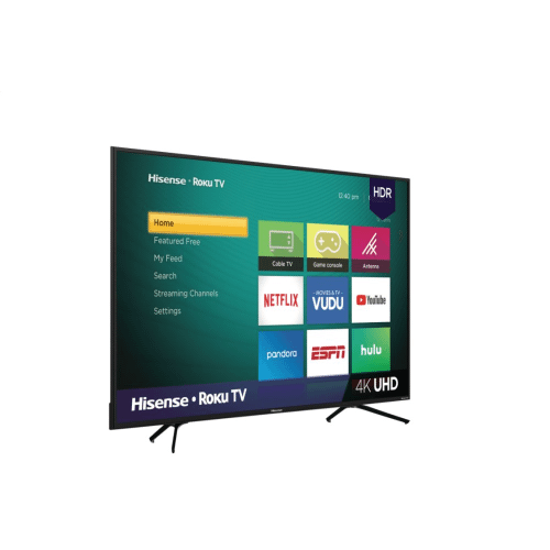"""65"""" Class - R6 Series - 4K UHD Hisense Roku TV with HDR (2018) SUPPORT"""