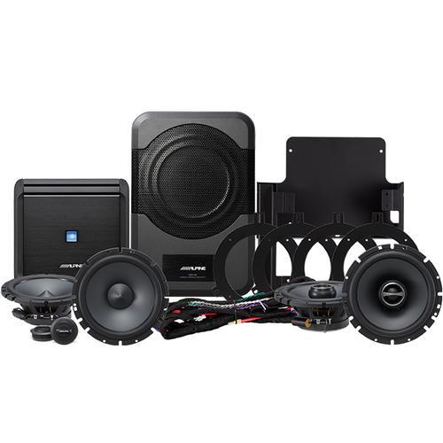 Direct Fit Sound System for 2007-2014 Jeep Wrangler JK Unlimited