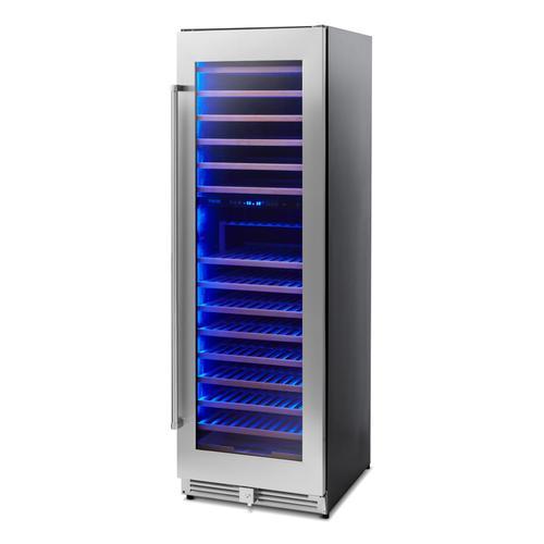 Thor Kitchen - 24 Inch Dual Zone Wine Cooler, 162 Wine Bottle Capacity