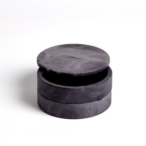 Alabaster Swivel Box-Grey
