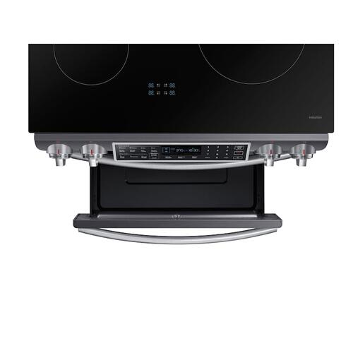 5.8 cu. ft. Slide-In Induction Range with Virtual Flame™ in Black Stainless Steel