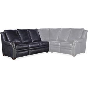 Bradington Young Pauley LAF Sofa Recline At Arm w/Articulating Headrest 942-61
