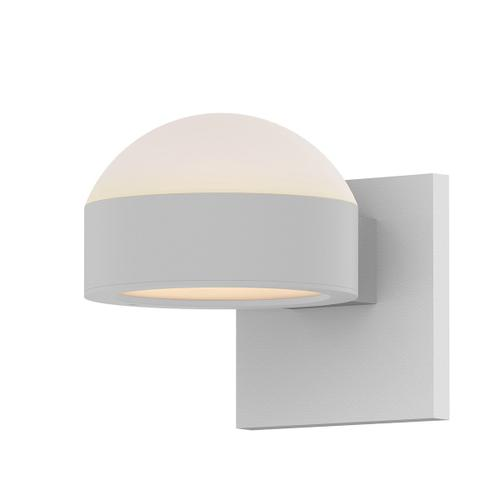 Sonneman - A Way of Light - REALS® Up/Down LED Sconce [Color/Finish=Textured White, Lens Type=Dome Lens and Plate Lens]