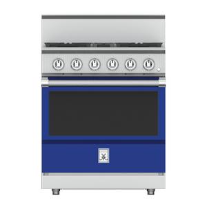 "Hestan30"" 4-Burner All Gas Range - KRG Series - Prince"