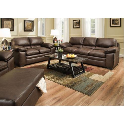 Lane Home Furnishings - Shiloh Sable Stationary Sofa,Love Seat Set 8073