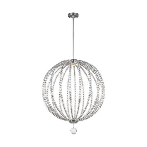 Oberlin 2 - Light Pendant Satin Nickel Bulbs Inc