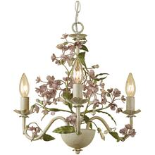 AF Lighting Grace Three-Light Chandelier, 7044-3H