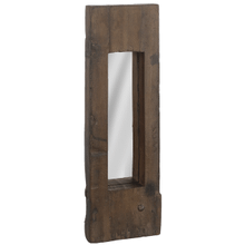 Medium Rail Road Tie Vertical Wall Mirror (Each One Will Vary)