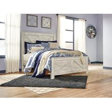 Bellaby Queen Crossbuck Panel Footboard