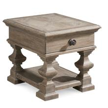 Arch Salvage Sloane End Table Parch