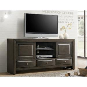 Crown Mark - Emily TV Stand Grey