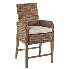 Beachcroft Bar Stool With Cushion (set of 2)