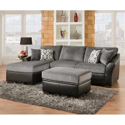 Simmons Upholstery - Raf / Laf Sofa