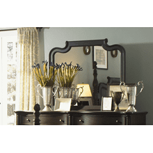 Glen Cove Espresso Mirror