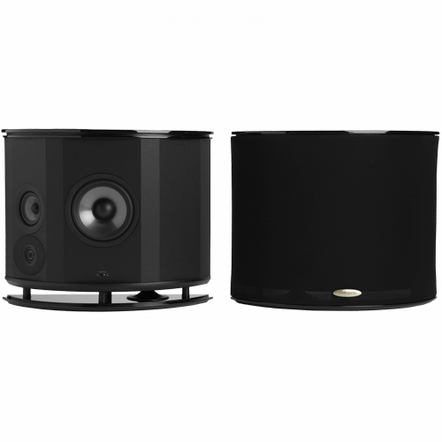 The Surround Speaker for Serious Listeners in Black Gloss