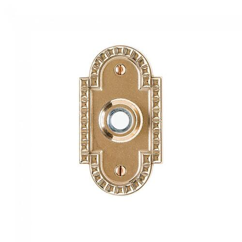 Corbel Arched Doorbell Button White Bronze Dark
