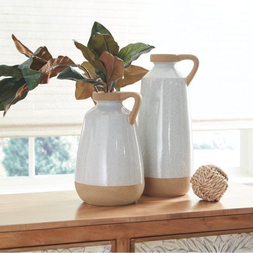 Signature Design By Ashley - Tilbury Vase (set of 2)