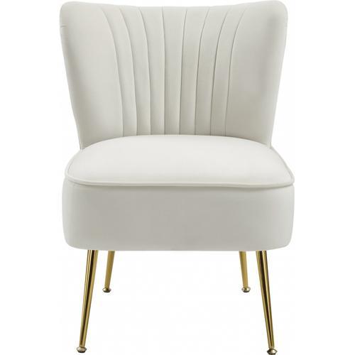 """Tess Velvet Accent Chair - 22.5"""" W x 26.5"""" D x 29.5"""" H"""