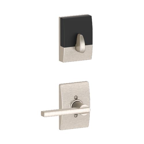 Schlage - Century Style Schlage Touch and Latitude Lever - Satin Nickel