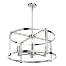 Astwood 6 Light Chandelier - Polished Nickel