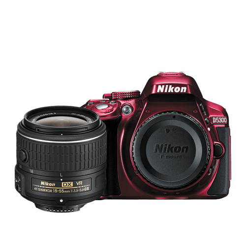 D5300 18-55mm VR II Lens Kit Red