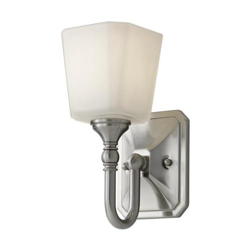 Concord 1-Light Sconce Brushed Steel