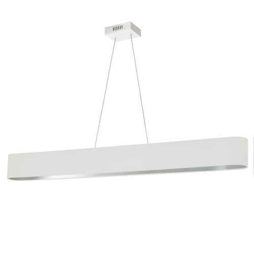 Product Image - 30w Horiz Pendant, Wht/slv Shade, Mw