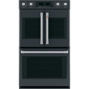 """Café 30"""" Smart French-Door, Double Wall Oven with Convection Product Image"""