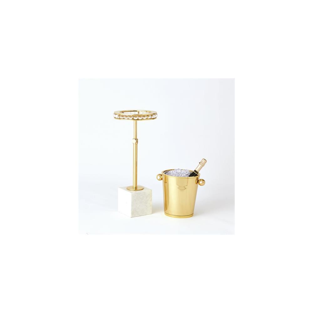 Margot Champagne Bucket-Brass