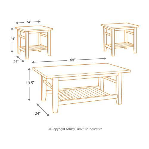 Zantori Table (set of 3)