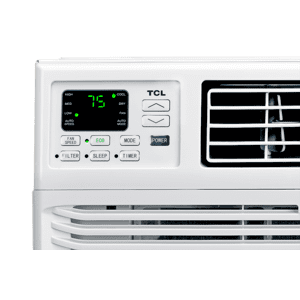 TCL - 8,000 BTU Smart Window Air Conditioner - W8W91-B