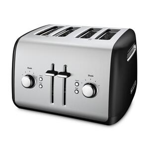 KitchenAid4-Slice Toaster with Manual High-Lift Lever - Onyx Black